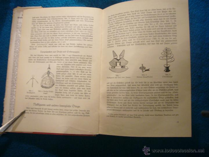 Libros antiguos: JOHANNA HUBER: - DAS BUCH DER KINDERBESCHÄFTIGUNGEN - (RAVENSBURG, 1936) (MANUALIDADES PARA NIÑOS) - Foto 3 - 45476405
