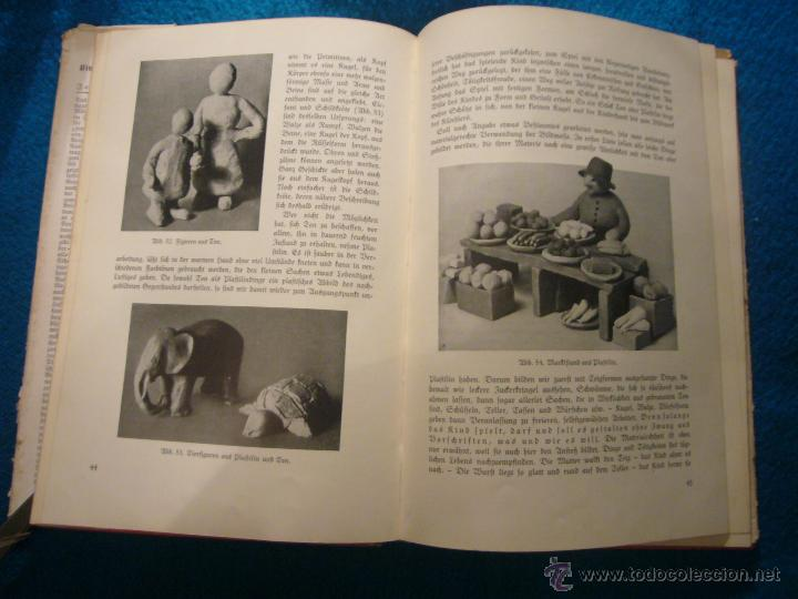 Libros antiguos: JOHANNA HUBER: - DAS BUCH DER KINDERBESCHÄFTIGUNGEN - (RAVENSBURG, 1936) (MANUALIDADES PARA NIÑOS) - Foto 4 - 45476405
