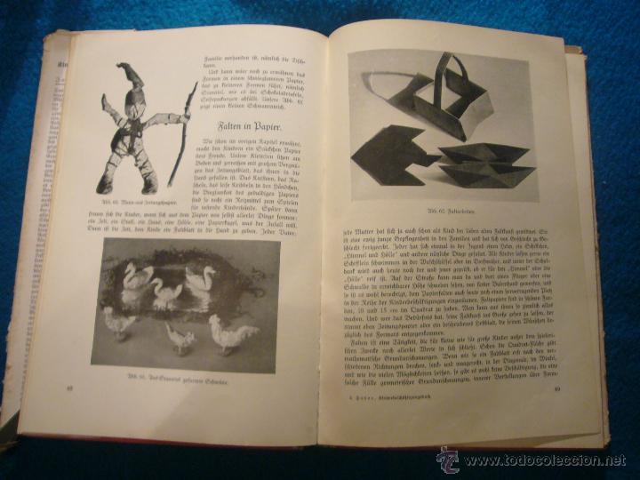 Libros antiguos: JOHANNA HUBER: - DAS BUCH DER KINDERBESCHÄFTIGUNGEN - (RAVENSBURG, 1936) (MANUALIDADES PARA NIÑOS) - Foto 5 - 45476405