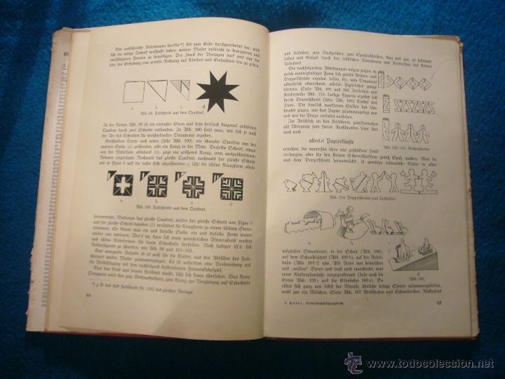 Libros antiguos: JOHANNA HUBER: - DAS BUCH DER KINDERBESCHÄFTIGUNGEN - (RAVENSBURG, 1936) (MANUALIDADES PARA NIÑOS) - Foto 6 - 45476405