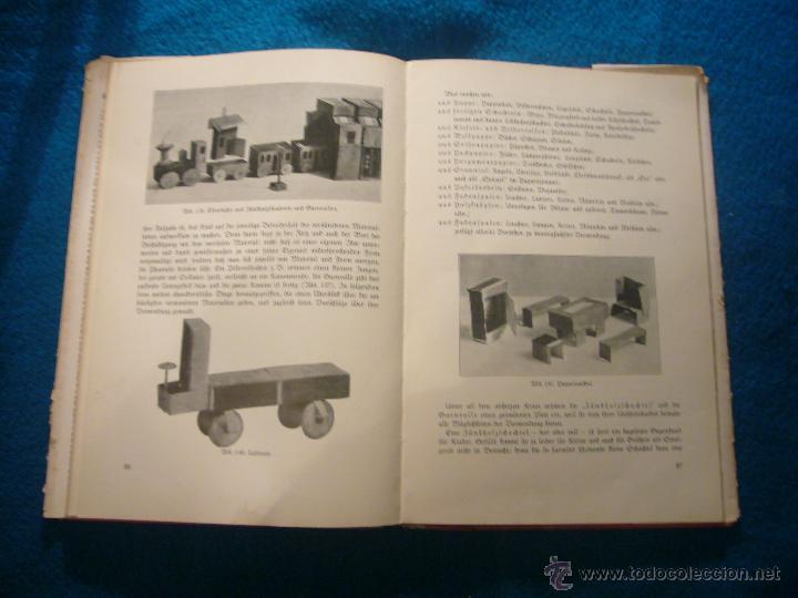 Libros antiguos: JOHANNA HUBER: - DAS BUCH DER KINDERBESCHÄFTIGUNGEN - (RAVENSBURG, 1936) (MANUALIDADES PARA NIÑOS) - Foto 7 - 45476405