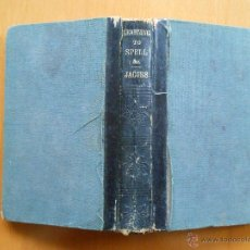 Libros antiguos: LEARNING TO SPELL, TO READ, TO WRITE, AND TO COMPOSE, ALL AT THE SAME TIME. BY J.A. JACOBS 1884. Lote 46467737