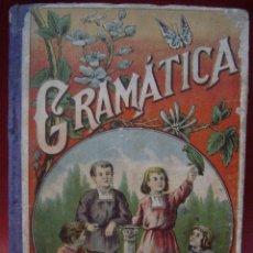 Libros antiguos: LECCIONES PROGRESIVAS DE GRAMÁTICA CASTELLANA. Lote 47045834