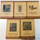 Libros antiguos: LOTE 5 LIBROS PEDAGOGIA COLECCION LABOR. BIBLIOTECA INICIACION CULTURAL. VER DESCRIPCION E TITULOS.. Lote 47355941