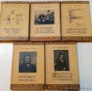 Libros antiguos: LOTE 5 LIBROS PEDAGOGIA COLECCION LABOR. BIBLIOTECA INICIACION CULTURAL. VER DESCRIPCION E TITULOS.. Lote 47356255