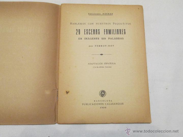 Libros antiguos: ESCENAS FAMILIARES EN IMAGINES SIN PALABRAS - PERROT Y DOT - 1930 - Foto 2 - 47759949