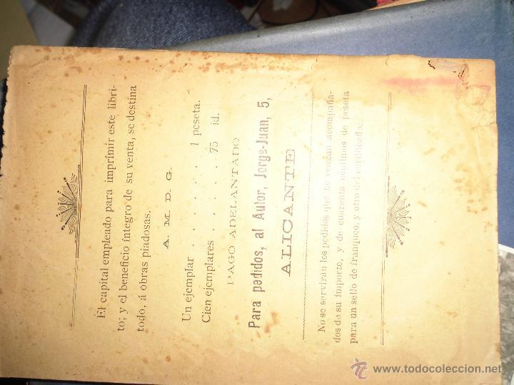 Libros antiguos: LOS CONSEJOS DE UN PADRE INCREDULIDAD Y FE J. NUÑEZ ALICANTE 1908 304 PAGINAS LIBRO RELIGIOSO - Foto 3 - 49037907