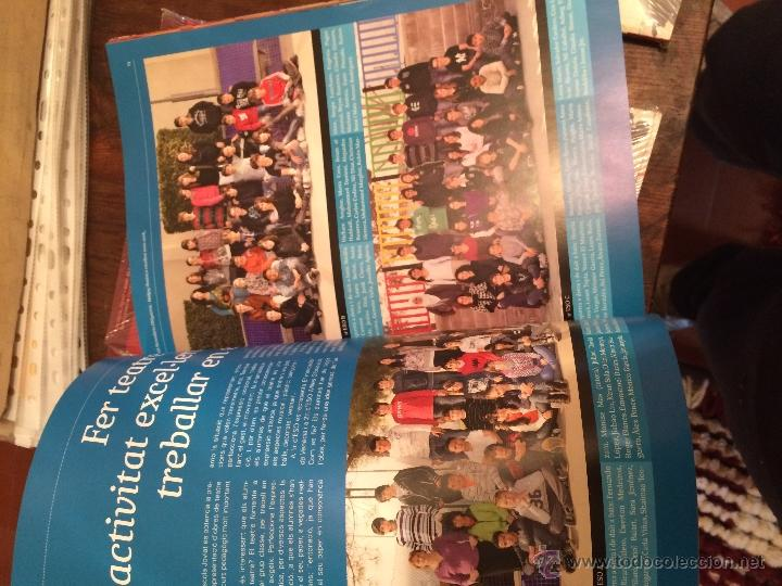 Libros antiguos: Revista Escola Joviat 2012 Manresa - Foto 2 - 167910538