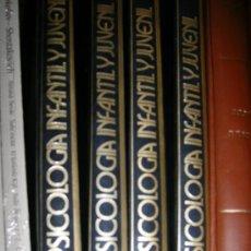 Libros antiguos: PSICOLOGIA INFANTIL Y JUVENIL 4 TOMOS. Lote 49506257