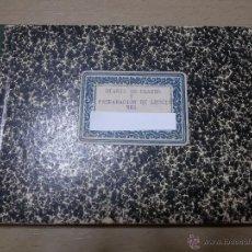 Libros antiguos: ÚNICO DIARIO DE CLASE DE UN MAESTRO DE LA REPÚBLICA EN LOS CURSILLOS DE SELECCIÓN.1933. Lote 49627074