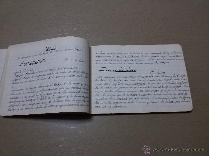 Libros antiguos: ÚNICO DIARIO DE CLASE DE UN MAESTRO DE LA REPÚBLICA EN LOS CURSILLOS DE SELECCIÓN.1933 - Foto 4 - 49627074