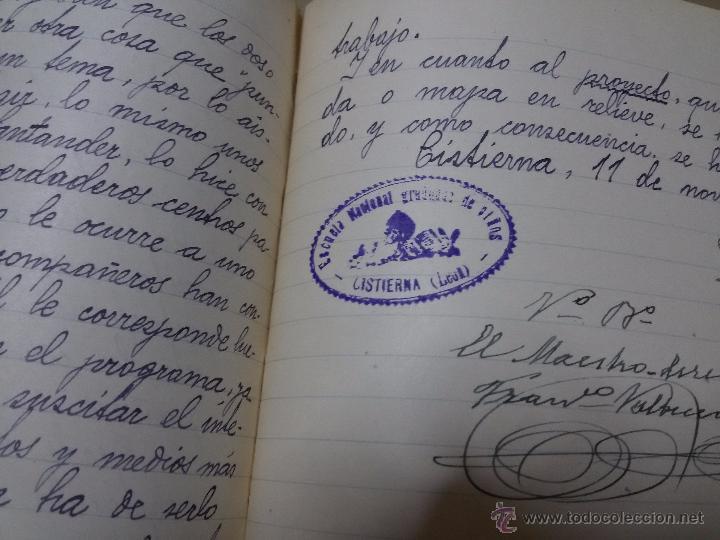 Libros antiguos: ÚNICO DIARIO DE CLASE DE UN MAESTRO DE LA REPÚBLICA EN LOS CURSILLOS DE SELECCIÓN.1933 - Foto 5 - 49627074
