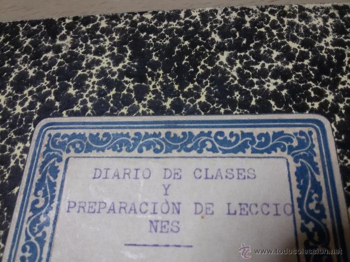 Libros antiguos: ÚNICO DIARIO DE CLASE DE UN MAESTRO DE LA REPÚBLICA EN LOS CURSILLOS DE SELECCIÓN.1933 - Foto 7 - 49627074
