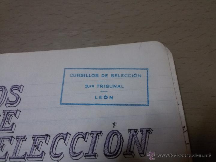 Libros antiguos: ÚNICO DIARIO DE CLASE DE UN MAESTRO DE LA REPÚBLICA EN LOS CURSILLOS DE SELECCIÓN.1933 - Foto 9 - 49627074