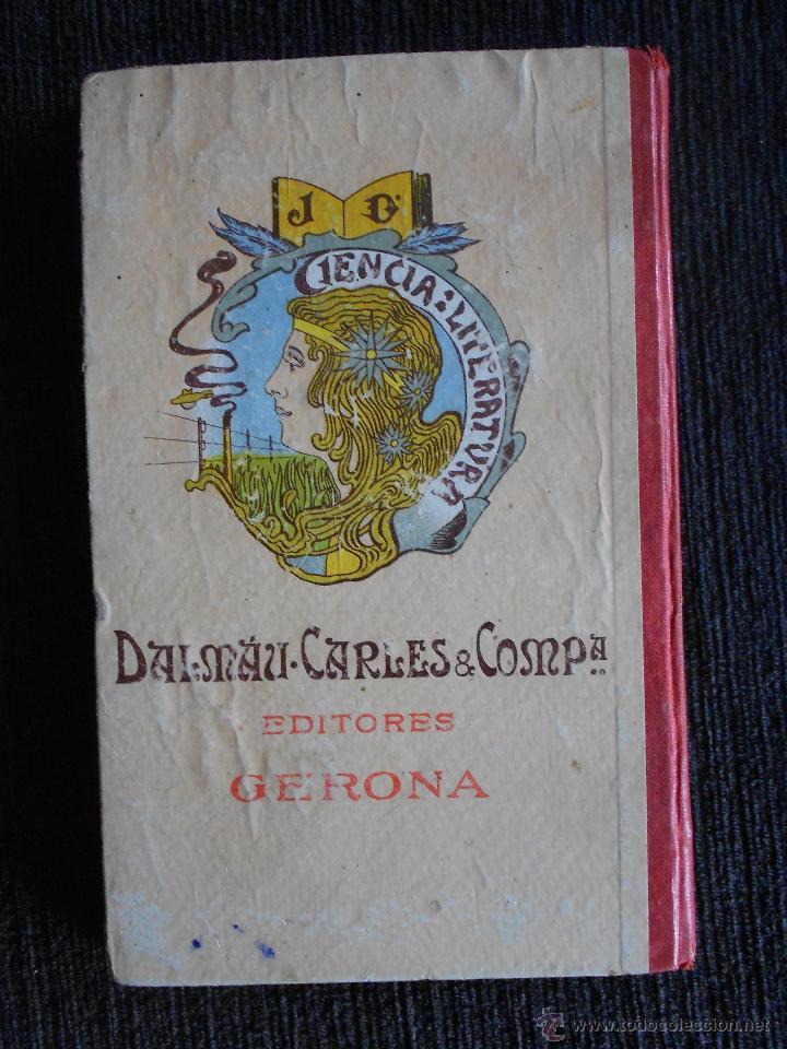 Libros antiguos: Los contemporáneos (Hojas literarias) Por I.B. Dalmau, Carles & compañía Editores. Gerona - Foto 2 - 50559335