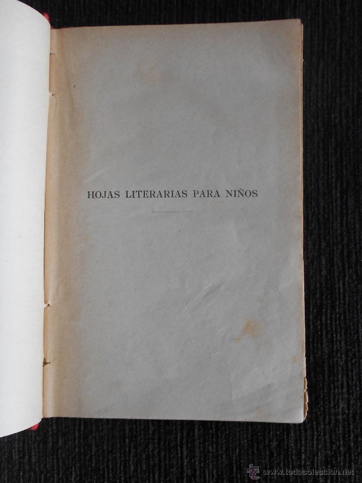 Libros antiguos: Los contemporáneos (Hojas literarias) Por I.B. Dalmau, Carles & compañía Editores. Gerona - Foto 3 - 50559335
