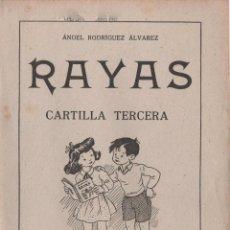 Libros antiguos: RAYAS CARTILLA TERCERA 1958. Lote 51619510