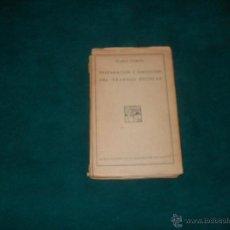 Libros antiguos: ELADIO GARCIA, PREPARACION Y EJECUCION DEL TRABAJO ESCOLAR. 1932. Lote 53192266