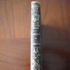 Libros antiguos: PRINCIPIOS DE LITERATURA GENERAL Y ESPAÑOLA - MANUEL MILÁ Y FONTANALS - DIARIO DE BARCELONA (1873). Lote 53352860