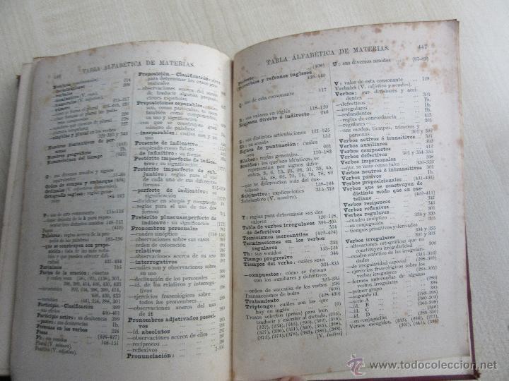 Libros antiguos: Real Sistema Británico. Gramática Inglesa y Correspondencia Mercantil 1907 MacConnell - Foto 7 - 53998393