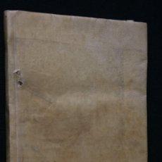 Libros antiguos: 1841 MATEMATICAS - ARITMETICA - EJEMPLOS CLAROS - PERGAMINO - EXCELENTE ESTADO - VALLADOLID . Lote 55693049