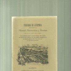 Libros antiguos: 2279.-COLEGIO VALLDEMIA-DISCURSO DE APERTURA DE FEBRERO DE 1902-MATARO. Lote 57366163