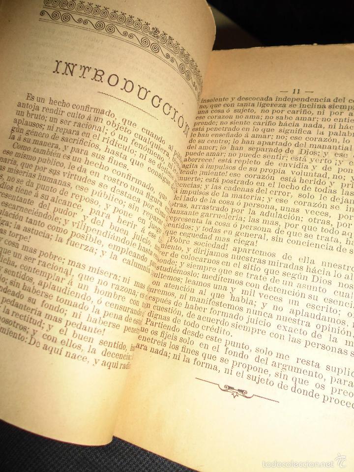 Libros antiguos: LOS CONSEJOS DE UN PADRE INCREDULIDAD Y FE J. NUÑEZ ALICANTE 1908 304 PAGINAS LIBRO RELIGIOSO - Foto 4 - 49037907
