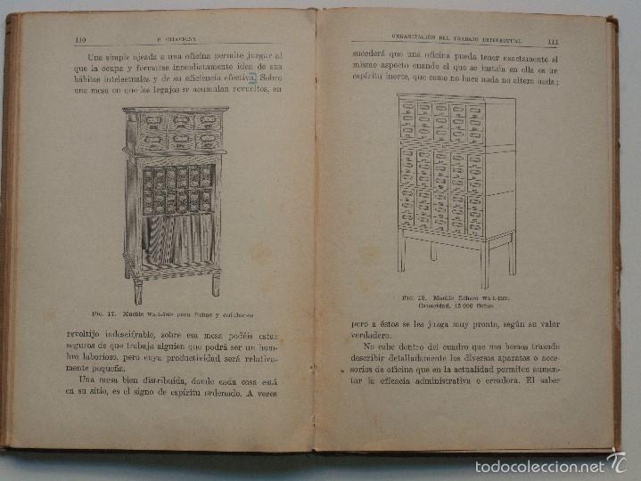 Libros antiguos: ORGANIZACIÓN DEL TRABAJO INTELECTUAL - P. CHAVIGNY - COLECCIÓN LABOR AÑO 1936 - 2ª EDICIÓN - Foto 7 - 58553285