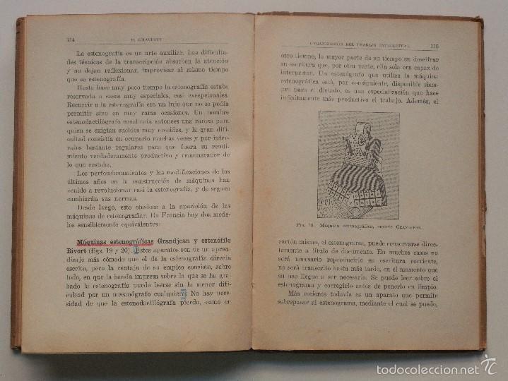 Libros antiguos: ORGANIZACIÓN DEL TRABAJO INTELECTUAL - P. CHAVIGNY - COLECCIÓN LABOR AÑO 1936 - 2ª EDICIÓN - Foto 8 - 58553285