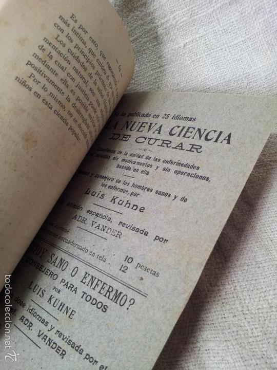 Libros antiguos: EDUCACION Y CRIANZA DE LOS NIÑOS-L.KUHNE CONSEJOS A LOS PADRES ,PRECEPTORES Y EDUCADORES 1919 - Foto 5 - 59533623