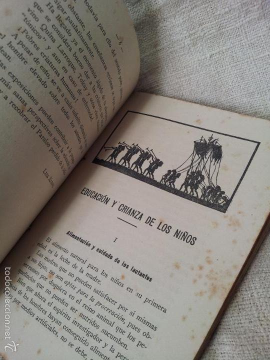 Libros antiguos: EDUCACION Y CRIANZA DE LOS NIÑOS-L.KUHNE CONSEJOS A LOS PADRES ,PRECEPTORES Y EDUCADORES 1919 - Foto 6 - 59533623
