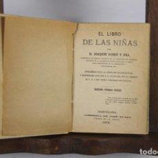 Libros antiguos: 4979- EL LIBRO DE LAS NIÑAS. JOAQUIN RUBIO. IMP. JOSE RUBIO. 1876.. Lote 44070816