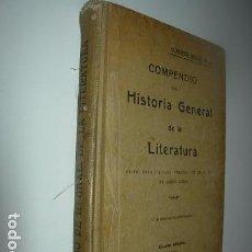COMPENDIO DE LA HISTORIA GENERAL DE LA LITERATURA-RISCO, S.J Alberto