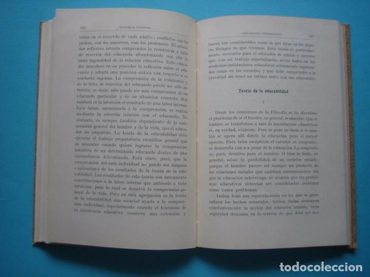 Libros antiguos: PEDAGOGIA SISTEMATICA - WILHELM FLITNER - ED. LABOR - 1935 - 199 PAGS.- PERFECTO ESTADO - VER - Foto 6 - 67765081