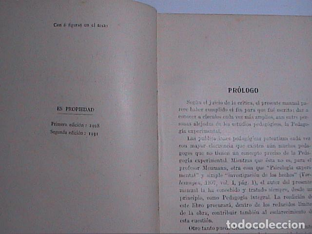 Libros antiguos: PEDAGOGÍA EXPERIMENTAL.1931. PROF.W.A.LAY. EDITORIAL LABOR. - Foto 2 - 69834593