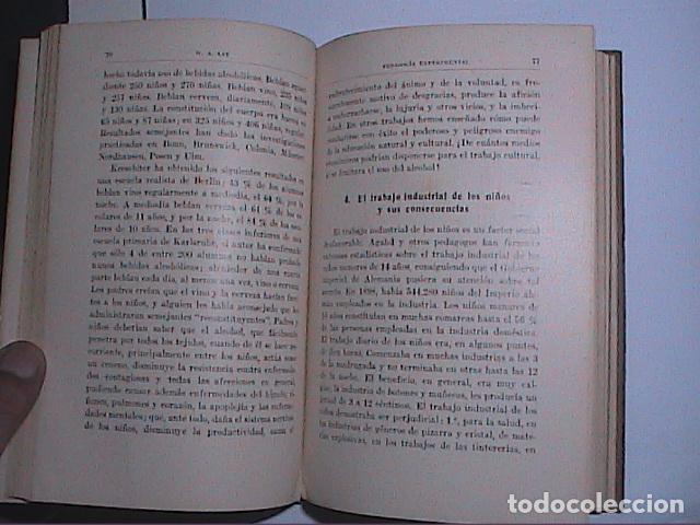 Libros antiguos: PEDAGOGÍA EXPERIMENTAL.1931. PROF.W.A.LAY. EDITORIAL LABOR. - Foto 4 - 69834593