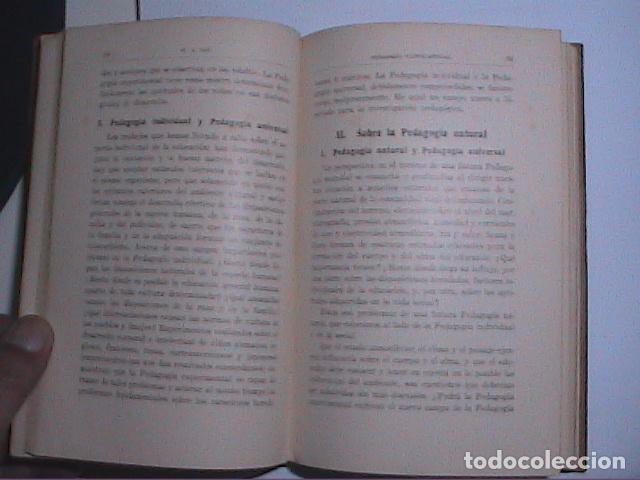 Libros antiguos: PEDAGOGÍA EXPERIMENTAL.1931. PROF.W.A.LAY. EDITORIAL LABOR. - Foto 5 - 69834593