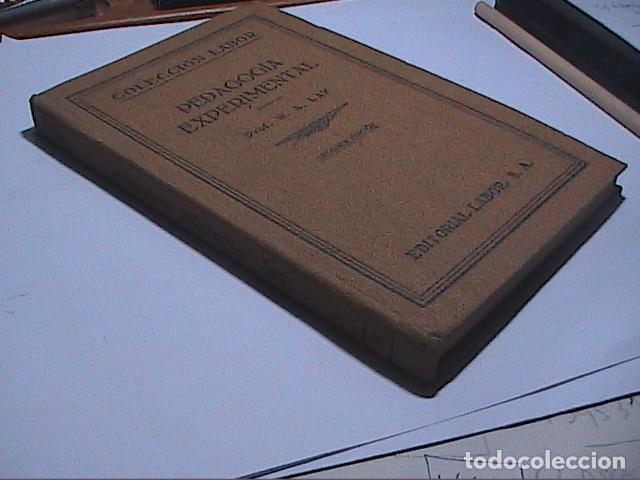 Libros antiguos: PEDAGOGÍA EXPERIMENTAL.1931. PROF.W.A.LAY. EDITORIAL LABOR. - Foto 6 - 69834593