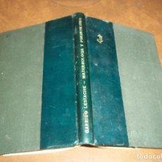 Libros antiguos: RARISIMO Y ANTIGUO TOMO MATERNOLOGIA Y PUERICULTURA DR. J. GARRIDO LESTACHE AÑOS 20 UNICO EN TC. Lote 73409895