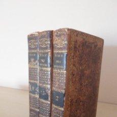 Libros antiguos: L'ECOLE DES MOEURS (LA ESCUELA DE LAS COSTUMBRES)-- 3 TOMOS-- BLANCHARD.-DEPELAFOL-1822. Lote 78028629
