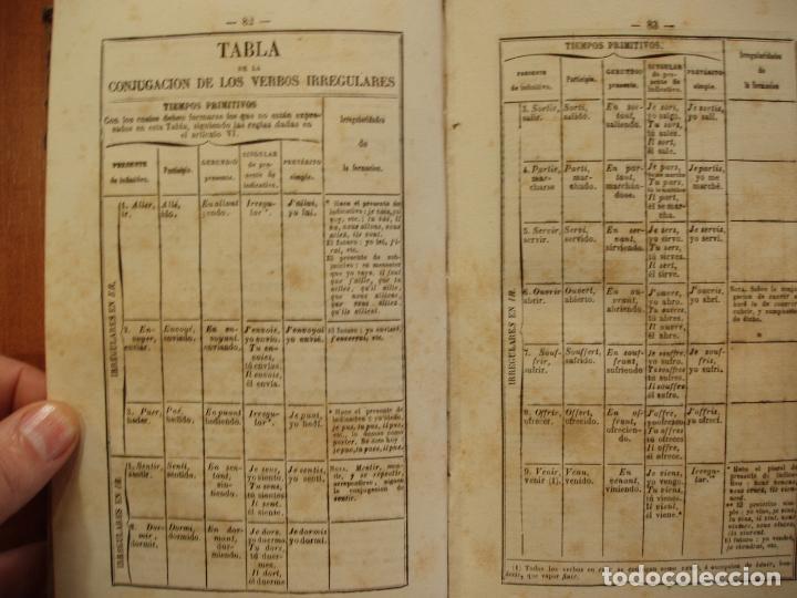 Libros antiguos: ARTE DE HABLAR BIEN FRANCES O GRAMÁTICA FRANCESA, POR PEDRO NICOLAS CHANTREAU. PARIS 1875 - Foto 3 - 78339557