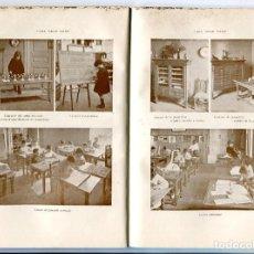 Libros antiguos: LLIBRE QUADERNS D'ESTUDI ANY 1916 METODE MONTESSORI A CATALUNYA CASA DELS NENS FOTOGRAFIES. Lote 204520592