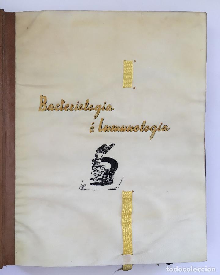 Libros antiguos: ANUARIO INSTITUTO LLORENTE. ARTE ORIGINAL 1942 CIENCIAS JACINTO MEGIAS CUERO POLICROMIA CANTO DORADO - Foto 4 - 81962932