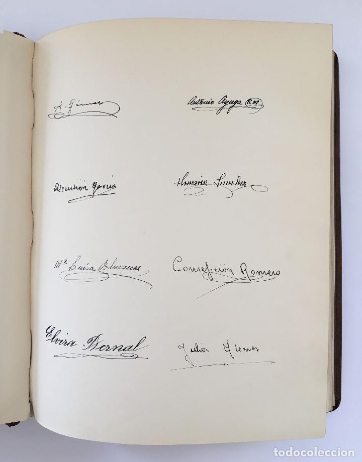 Libros antiguos: ANUARIO INSTITUTO LLORENTE. ARTE ORIGINAL 1942 CIENCIAS JACINTO MEGIAS CUERO POLICROMIA CANTO DORADO - Foto 5 - 81962932