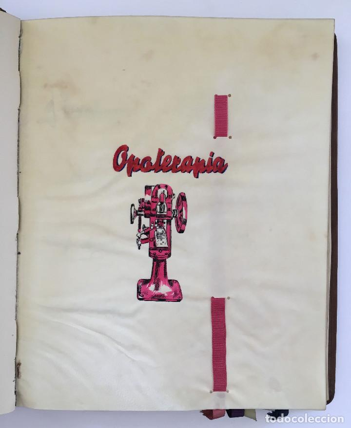 Libros antiguos: ANUARIO INSTITUTO LLORENTE. ARTE ORIGINAL 1942 CIENCIAS JACINTO MEGIAS CUERO POLICROMIA CANTO DORADO - Foto 6 - 81962932