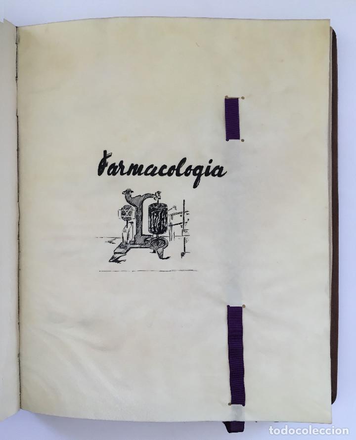 Libros antiguos: ANUARIO INSTITUTO LLORENTE. ARTE ORIGINAL 1942 CIENCIAS JACINTO MEGIAS CUERO POLICROMIA CANTO DORADO - Foto 8 - 81962932