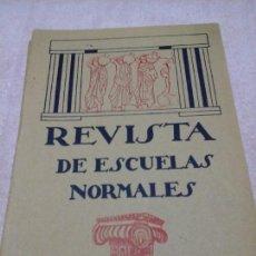 Libri antichi: REVISTA DE ESCUELAS NORMALES MARZO 1928 N.52 CUENCA PEDAGOGÍA EDUCACIÓN. REFORMAS. Lote 86685946