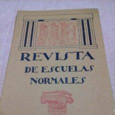 Libri antichi: REVISTA DE ESCUELAS NORMALES FEBRERO 1928 N.51 CUENCA PEDAGOGÍA EDUCACIÓN. REFORMAS. Lote 86685943
