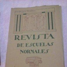 Libros antiguos: REVISTA DE ESCUELAS NORMALES FEBRERO 1927 N.42 GUADALAJARA PEDAGOGÍA EDUCACIÓN. PESTALOZZI. Lote 86068688
