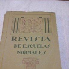 Libros antiguos: REVISTA DE ESCUELAS NORMALES MAYO 1925 N. 25 GUADALAJARA PEDAGOGÍA EDUCACIÓN CONCHA ALFAYA. Lote 86080228